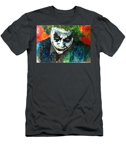 Joker - Heath Ledger Men's T-Shirt (Athletic Fit)