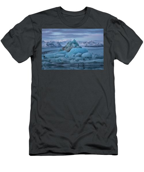 Jokulsarlon Iceland Men's T-Shirt (Athletic Fit)