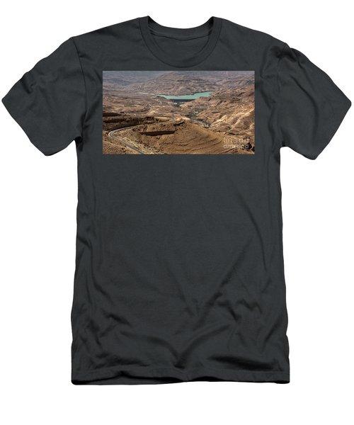 Men's T-Shirt (Athletic Fit) featuring the photograph Jordan River by Mae Wertz