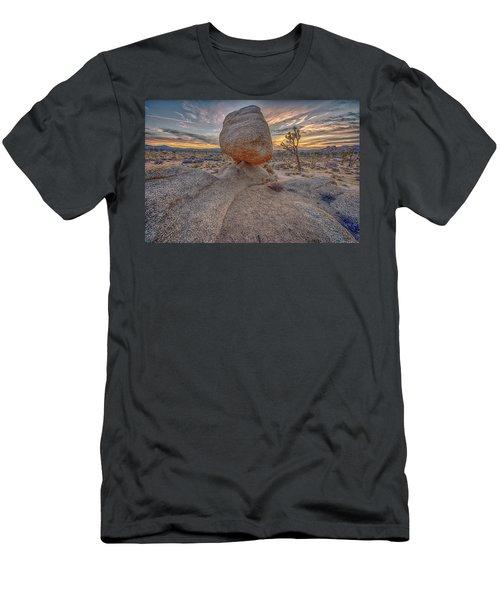 Joshua Tree Sunset Men's T-Shirt (Athletic Fit)