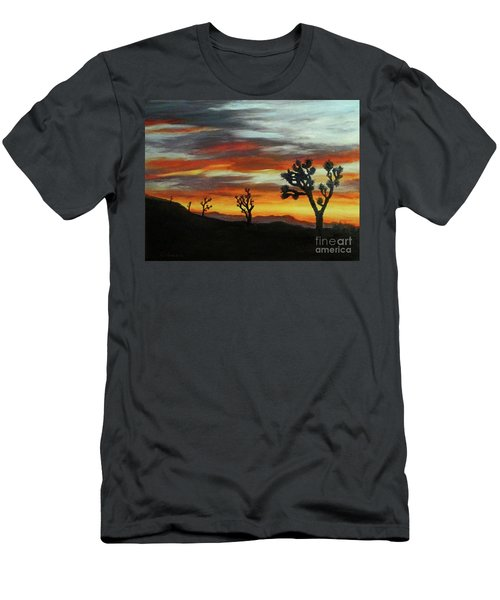 Joshua Trees At Sunset Men's T-Shirt (Athletic Fit)