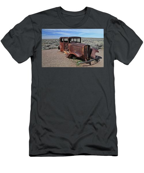 Men's T-Shirt (Slim Fit) featuring the photograph Journey's End by Gary Kaylor