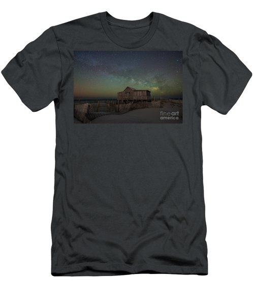Judge's Shack Milky Way Men's T-Shirt (Athletic Fit)