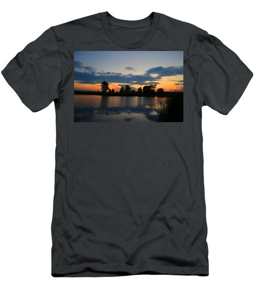 July Sunset Men's T-Shirt (Athletic Fit)