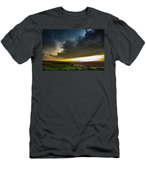 June Comes In With A Boom 005 Men's T-Shirt (Athletic Fit)