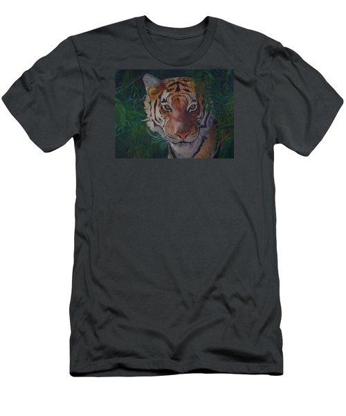 Jungle Eyes Men's T-Shirt (Athletic Fit)
