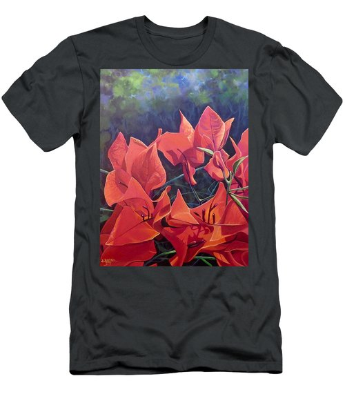Jungle Fire Men's T-Shirt (Athletic Fit)