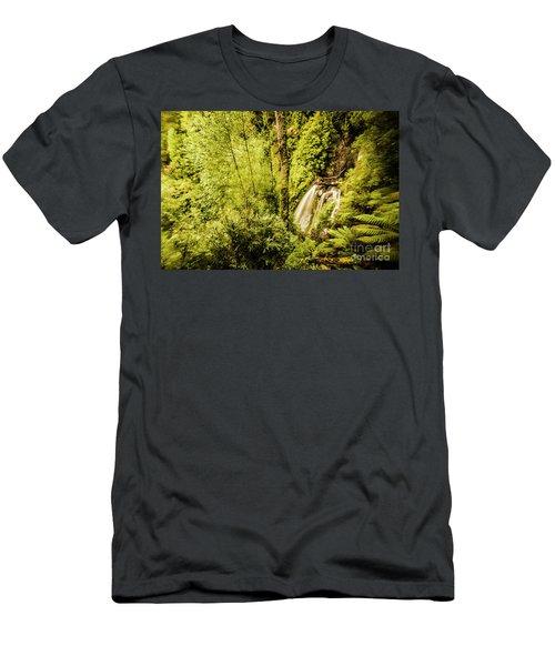 Jungle Steams Men's T-Shirt (Athletic Fit)