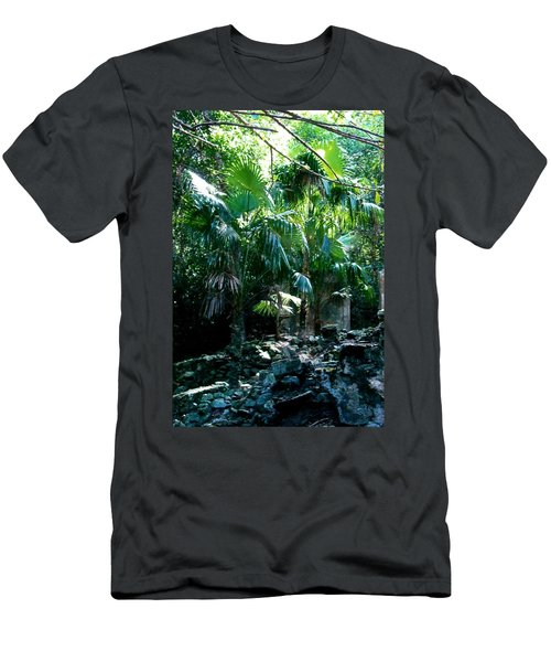 Jungle Sun  Men's T-Shirt (Athletic Fit)