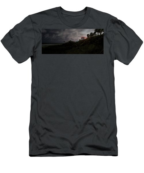 Men's T-Shirt (Slim Fit) featuring the photograph Juno Beach by Laura Fasulo