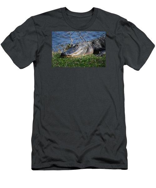 Just A Few Steps Closer Dear Men's T-Shirt (Slim Fit) by Roena King