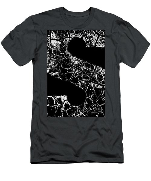 Men's T-Shirt (Athletic Fit) featuring the photograph Just An S by Wendy Wilton