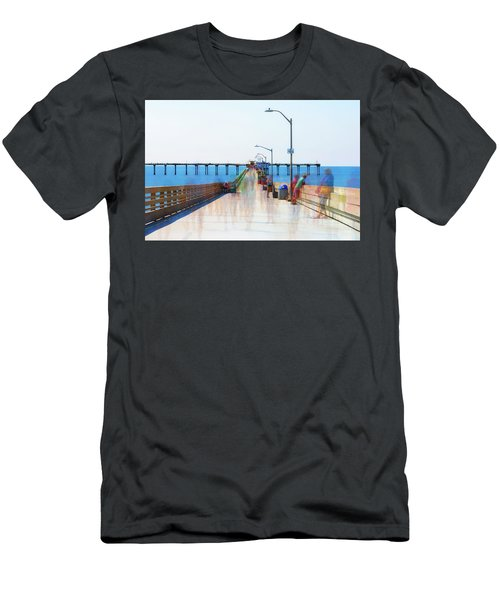 Just Hanging Out In The Summertime Men's T-Shirt (Slim Fit) by Joseph S Giacalone