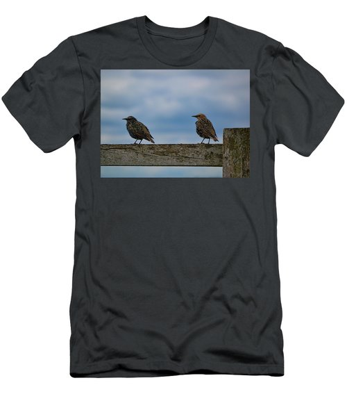 Men's T-Shirt (Athletic Fit) featuring the photograph Just Resting by Melissa Lane