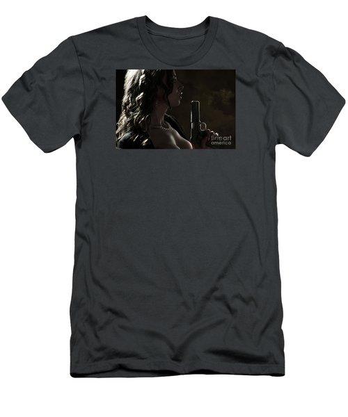Just Shot That 45 Men's T-Shirt (Athletic Fit)