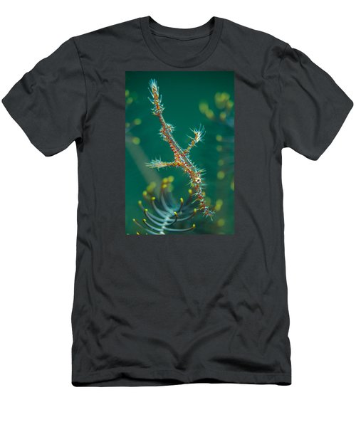 Juvenile Ornate Ghost Pipefish Men's T-Shirt (Athletic Fit)