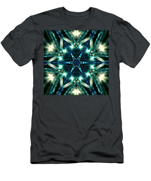 Men's T-Shirt (Athletic Fit) featuring the digital art Jyoti Ahau 100 by Robert Thalmeier