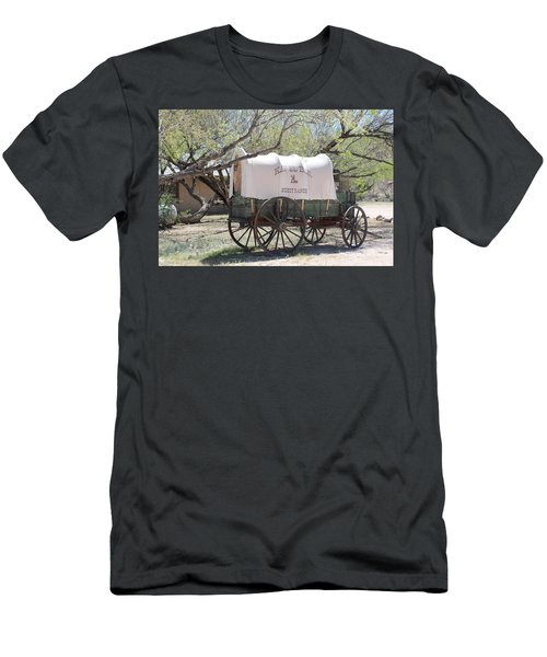 K L Bar Wagon Men's T-Shirt (Athletic Fit)