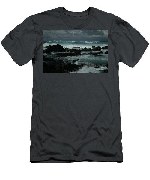 Ka Makani Kaiili Aloha Hookipa Maui Hawaii  Men's T-Shirt (Athletic Fit)