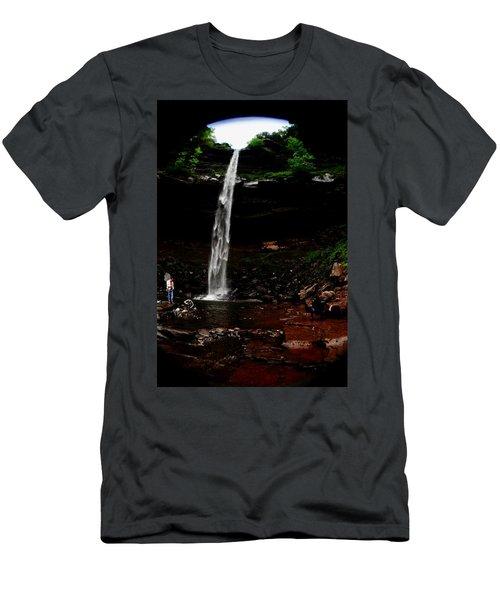 Kaaterskill Falls Men's T-Shirt (Athletic Fit)