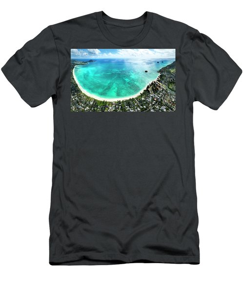Kailua - Lanikai Overview Men's T-Shirt (Athletic Fit)