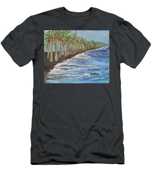 Kalapana Beach Men's T-Shirt (Slim Fit)