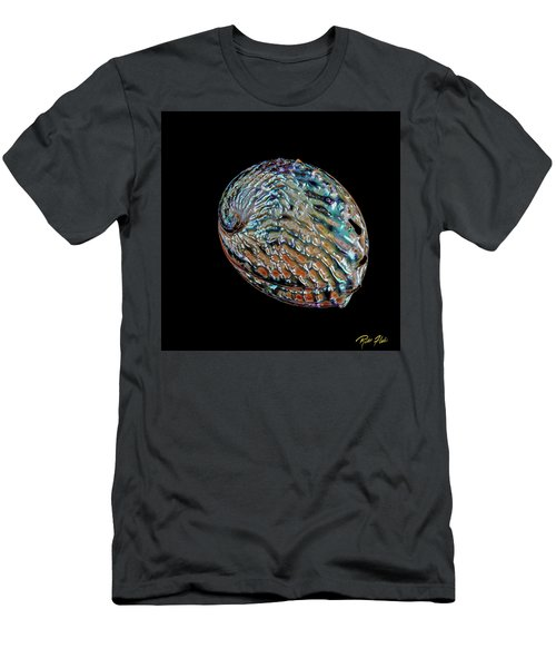 Men's T-Shirt (Athletic Fit) featuring the photograph Kaleidoscope Abalone by Rikk Flohr