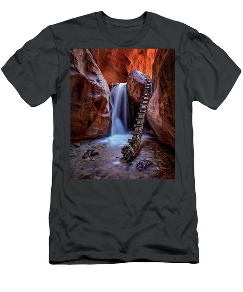 Kanarraville Falls Men's T-Shirt (Athletic Fit)