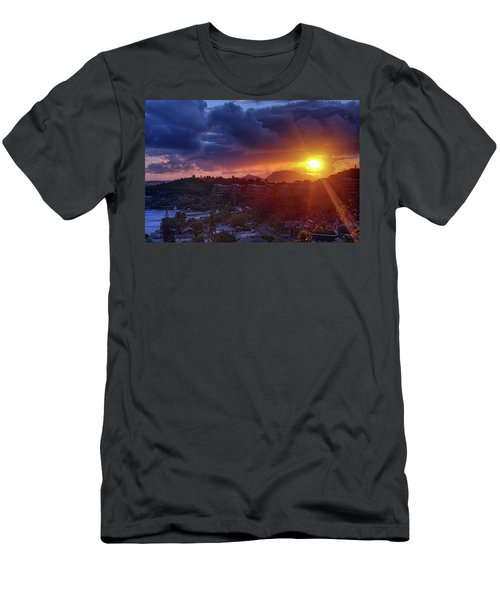 Kaneohe Sunrise Men's T-Shirt (Athletic Fit)