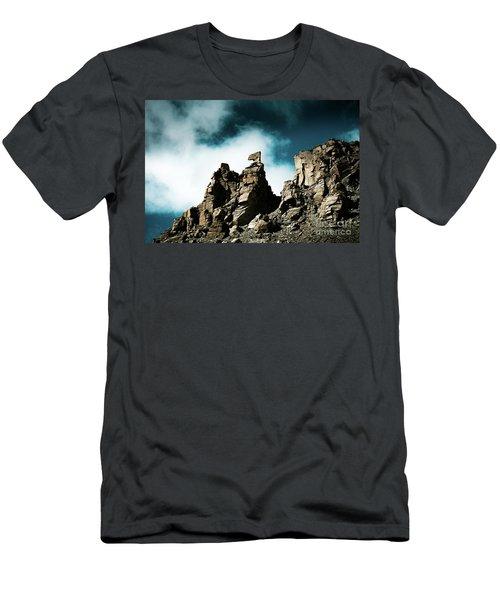 Karma Axe Tara Pass Kailas Himalayas Yantra.lv Men's T-Shirt (Athletic Fit)