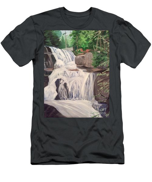 Katahdin Falls Men's T-Shirt (Athletic Fit)