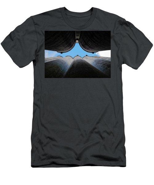 Katy Texas Rice Silos Men's T-Shirt (Athletic Fit)