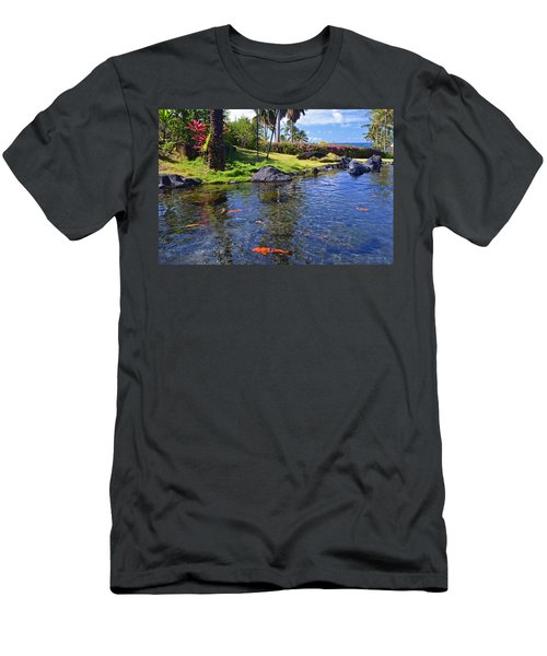 Kauai Serenity Men's T-Shirt (Slim Fit) by Marie Hicks