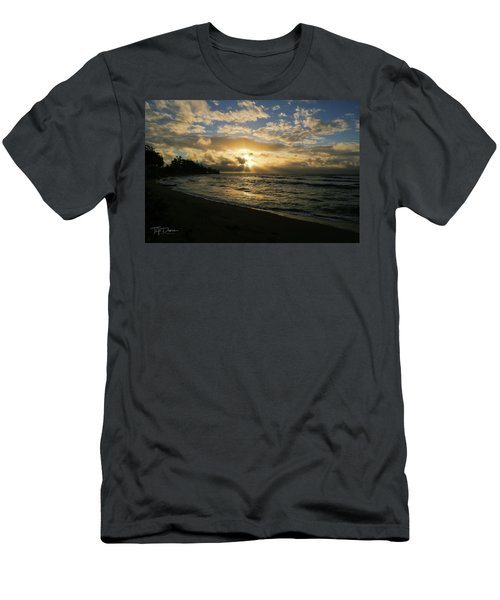 Kauai Sunrise Men's T-Shirt (Athletic Fit)
