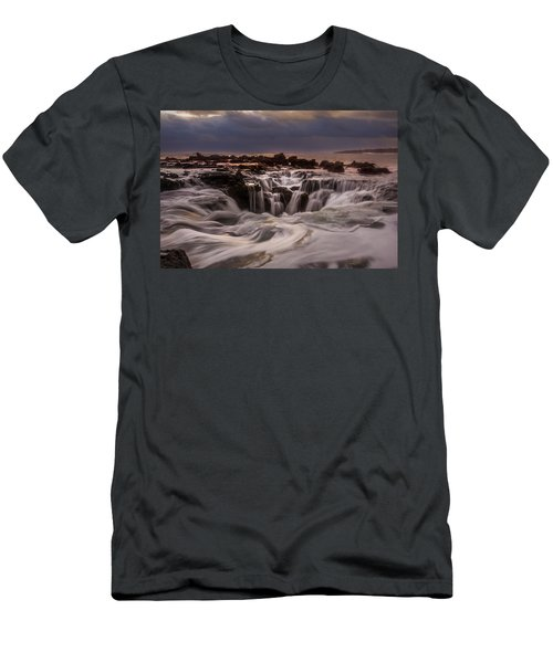 Kauaian Wishes Men's T-Shirt (Athletic Fit)