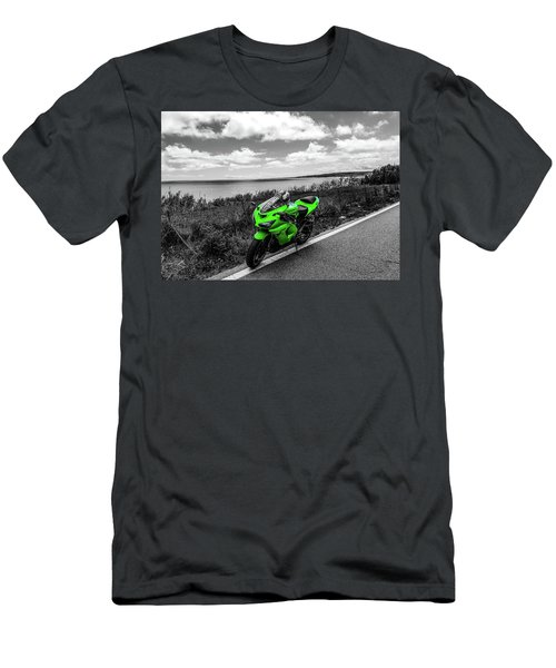 Kawasaki Ninja Zx-6r 2 Men's T-Shirt (Athletic Fit)
