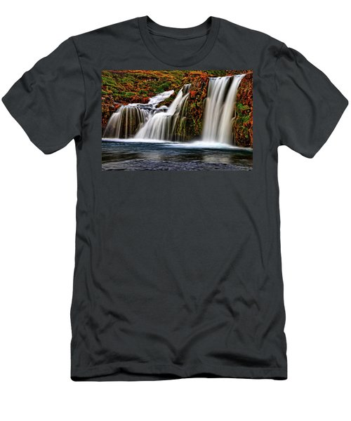Men's T-Shirt (Slim Fit) featuring the photograph Kay Falls by Scott Mahon