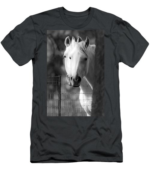 Men's T-Shirt (Slim Fit) featuring the photograph Keeping Their Eyes On Us D3126 by Wes and Dotty Weber