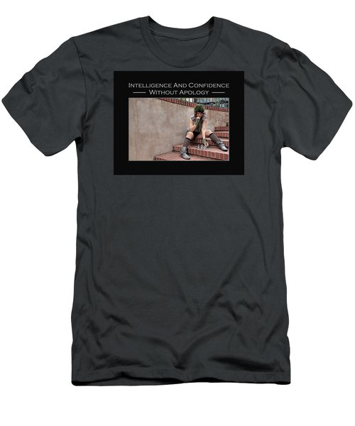 Kellie Peach 10-204 Men's T-Shirt (Slim Fit) by David Miller