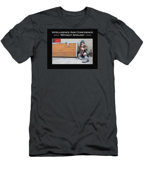 Kellie Peach 4-60 Men's T-Shirt (Slim Fit) by David Miller