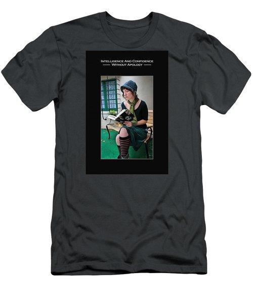 Kellie Peach 5-69 Men's T-Shirt (Slim Fit) by David Miller