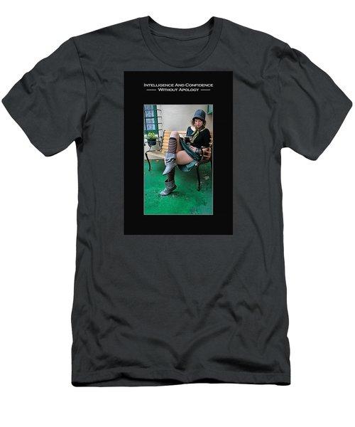 Kellie Peach 6-73 Men's T-Shirt (Slim Fit) by David Miller