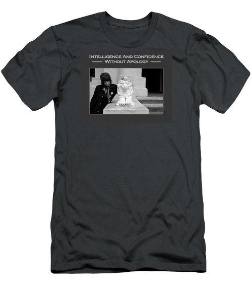 Kellie Peach 7-87 Men's T-Shirt (Slim Fit) by David Miller