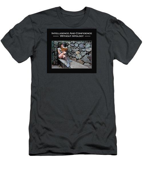 Kellie Peach 8-124 Men's T-Shirt (Slim Fit) by David Miller