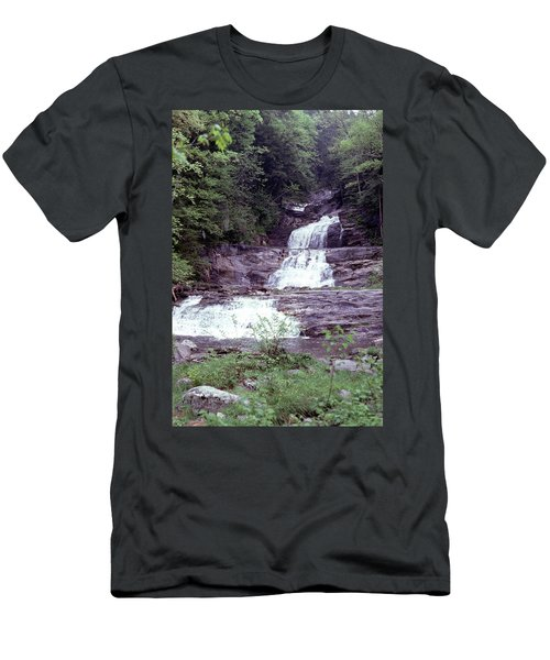Kent Falls 1 Men's T-Shirt (Athletic Fit)