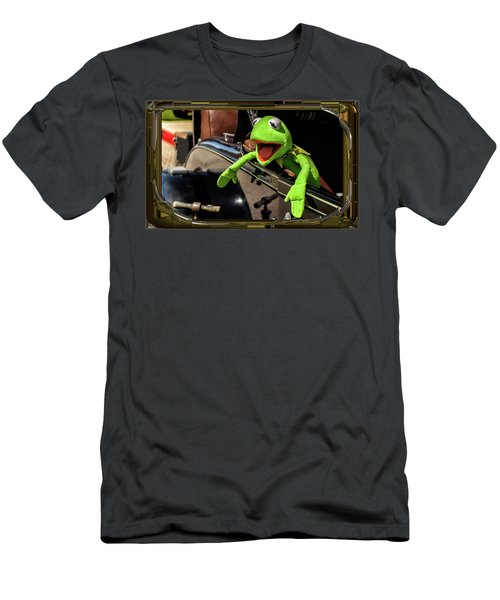 Kermit In Model T Men's T-Shirt (Athletic Fit)