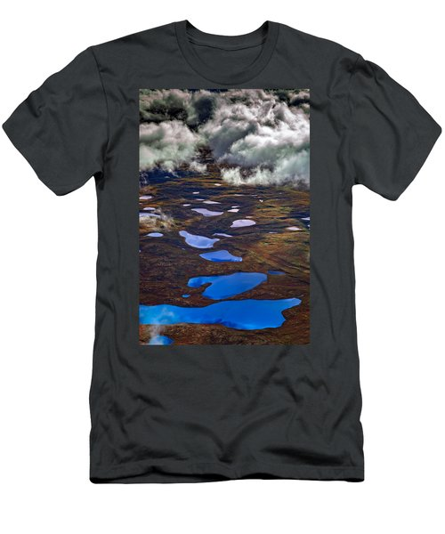 Kettle Ponds On The Tundra Men's T-Shirt (Athletic Fit)