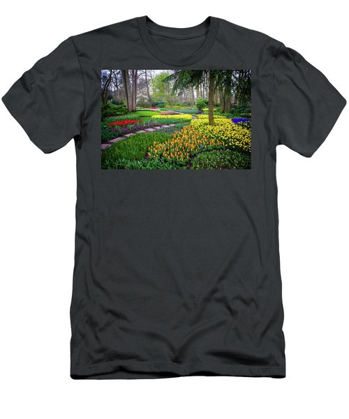 Keukehof Botanic Garden 2015 Men's T-Shirt (Athletic Fit)