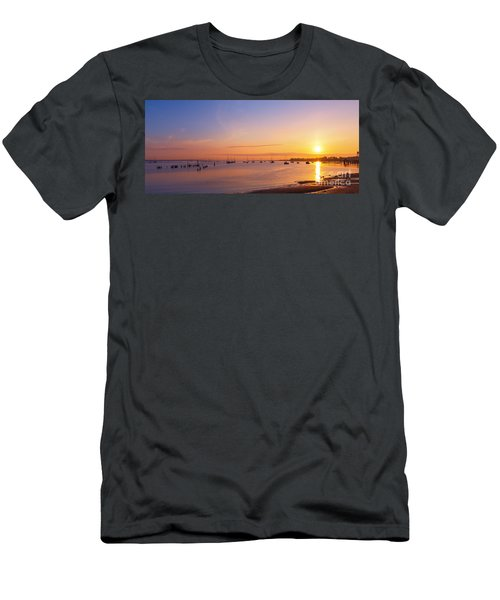 Keyport Harbor Sunrise  Men's T-Shirt (Athletic Fit)