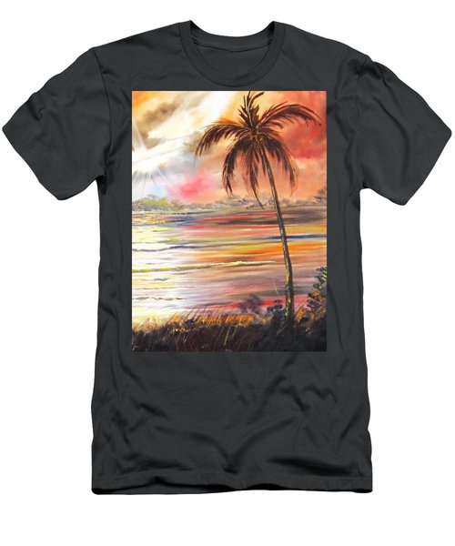 Keys Sunrise, Sunset Men's T-Shirt (Athletic Fit)